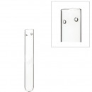 Test tube with hole for hanging, diameter 1.5cm